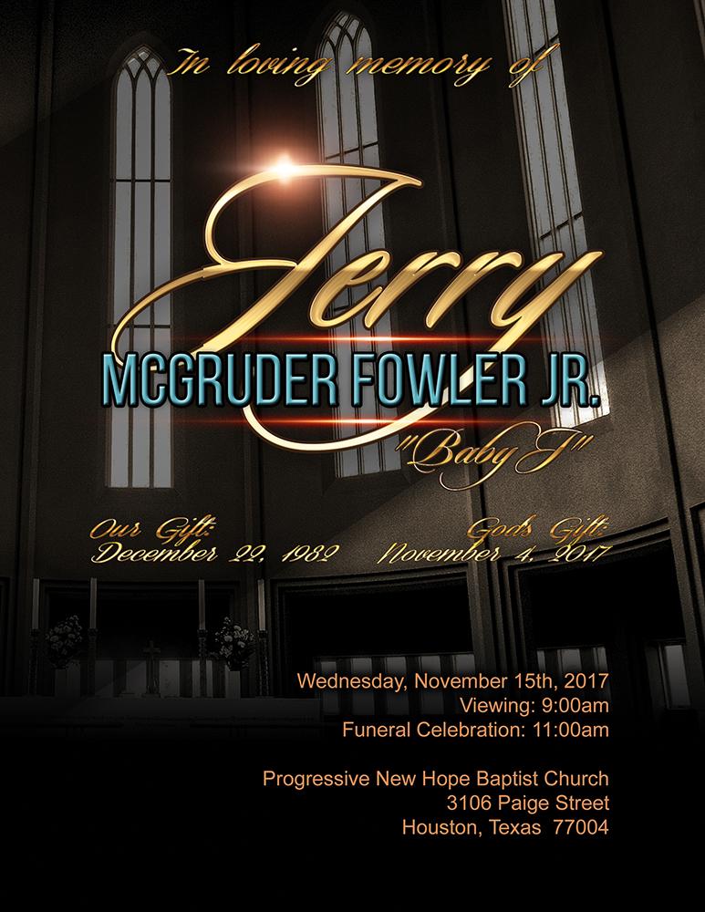 Jerry McGruder Fowler, Jr.