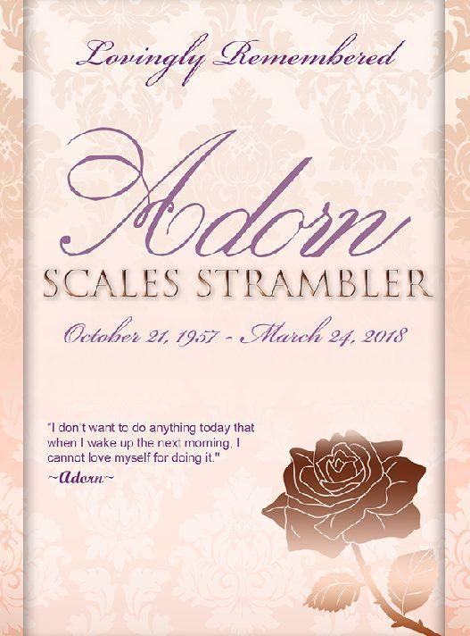 Adorn Scales Strambler 1957-2018