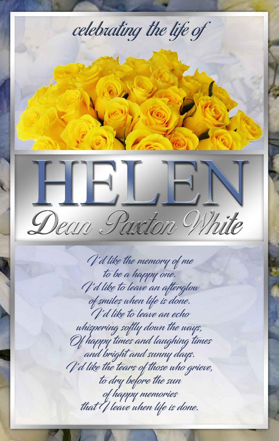 Helen Dean Paxton White