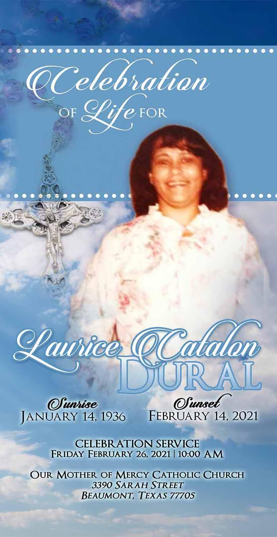 Laurice Catalon Dural 1936 – 2021