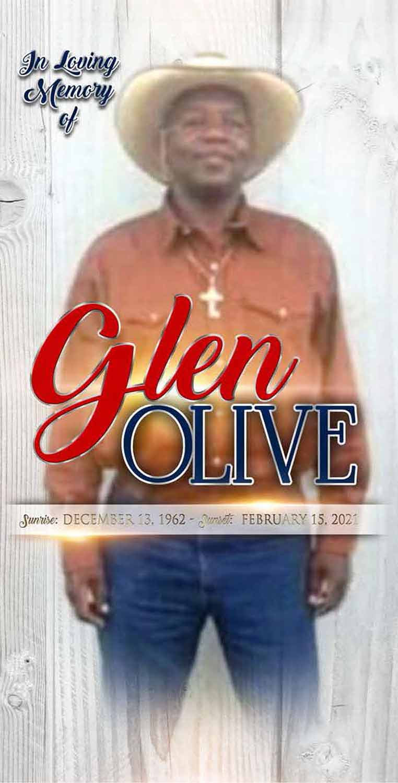 Glen Olive 1962 – 2021