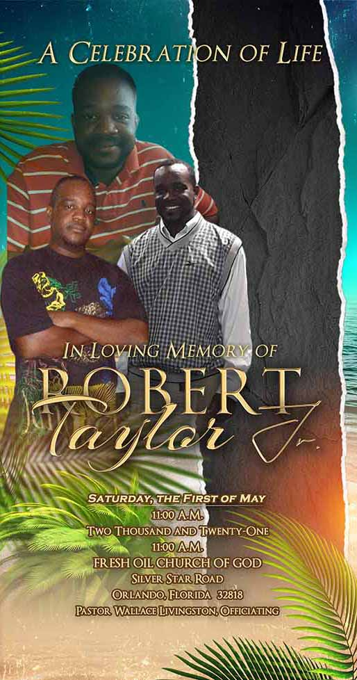 Robert Taylor Jr. 1984 – 2021
