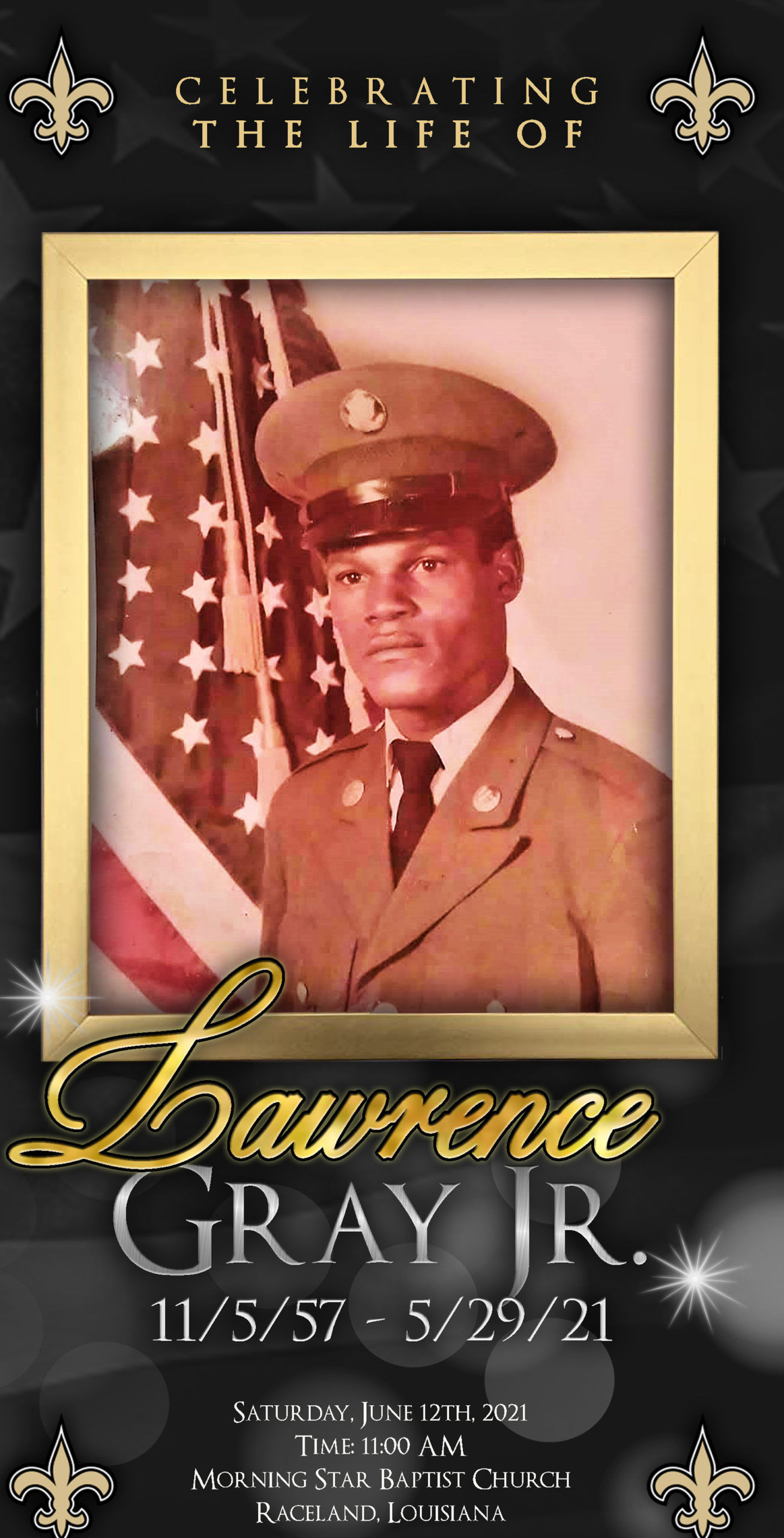 Lawrence Gray 1951-2021