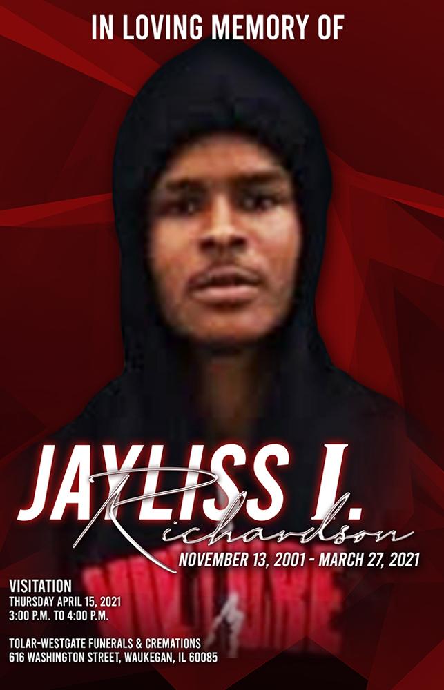 Jayliss Richardson 2001-2021