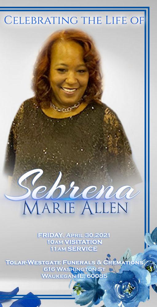 Sebrena Allen 1970-2021