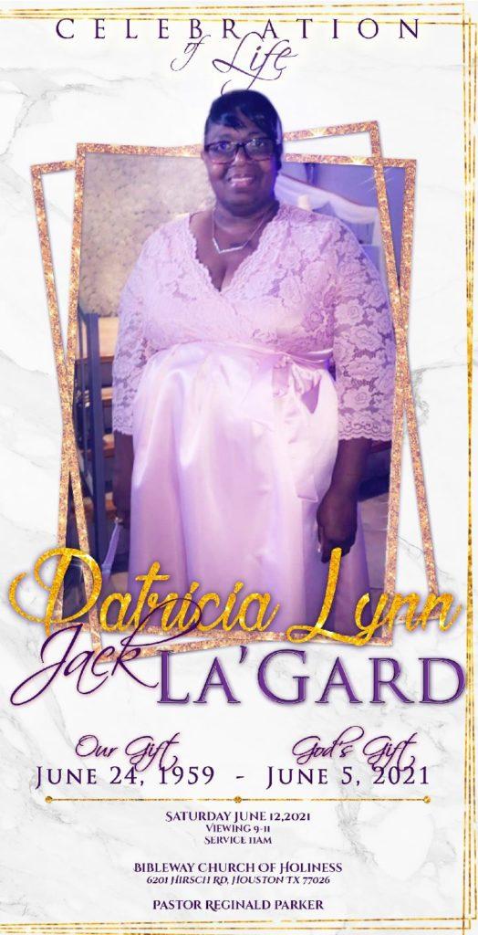 Patricia Lynn La'Gard 1959-2021