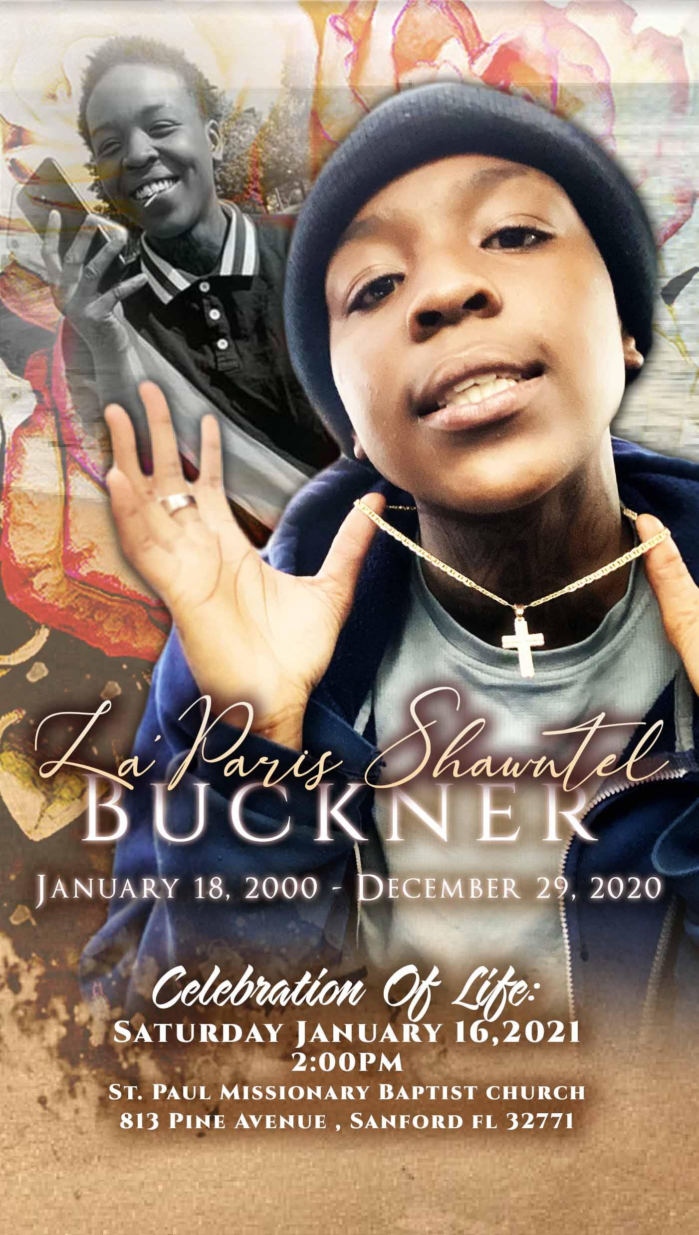 La Paris Shantel Buckner 2000-2020