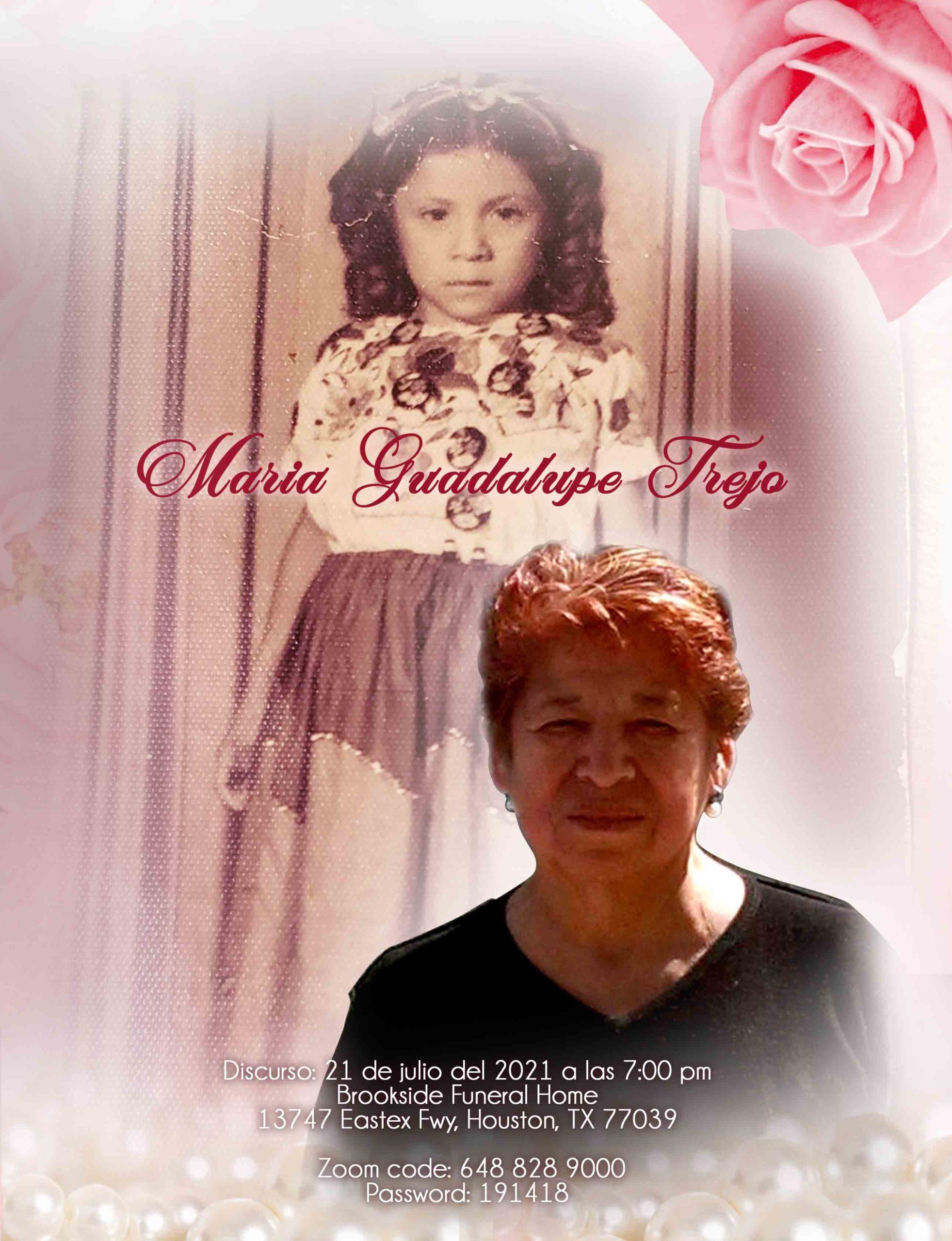 Maria Guadalupe Trejo 1943 – 2021