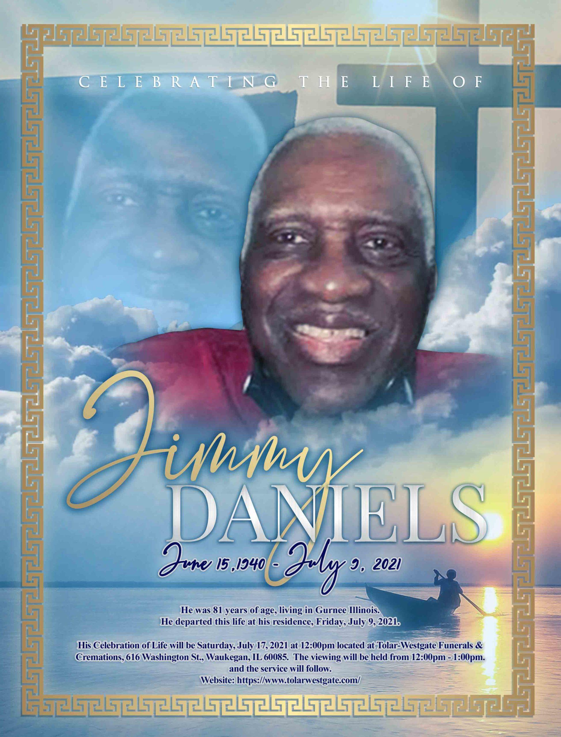 Jimmy Daniels 1940 – 2021