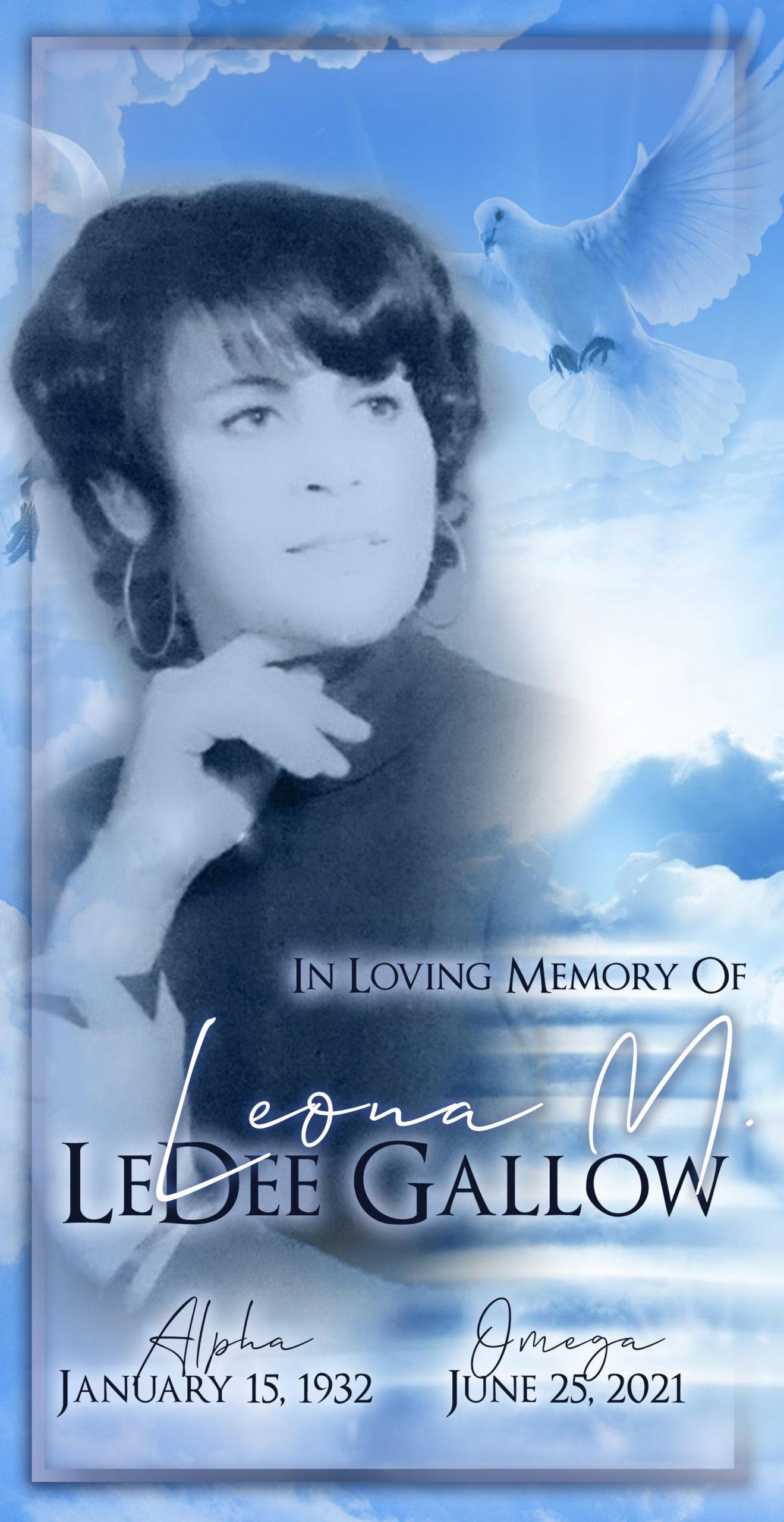 Leona Gallow 1932-2021