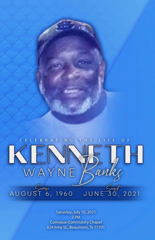 Kenneth Wayne Banks 1960 – 2021