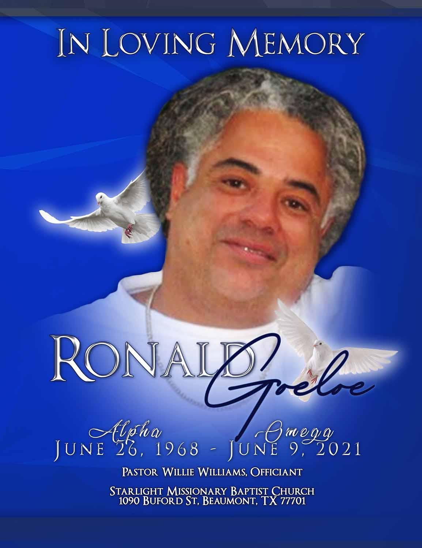 Ronald Goeloe 1968 – 2021