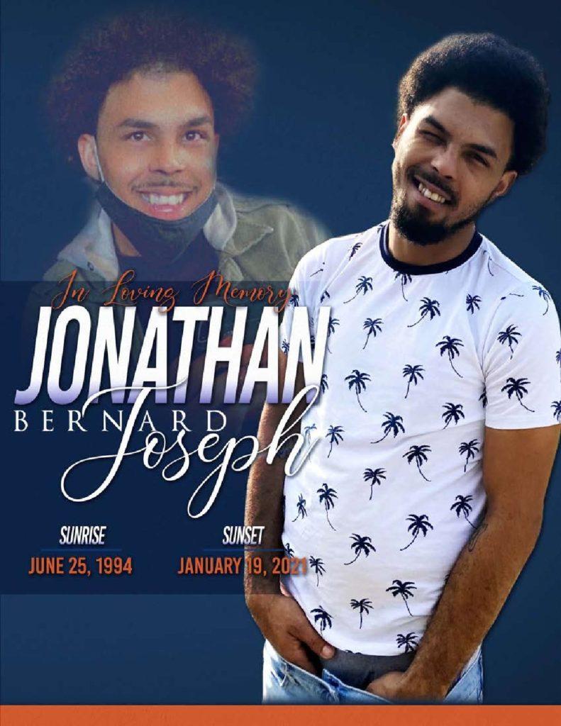 Jonathan Bernard Joseph 1994 – 2021