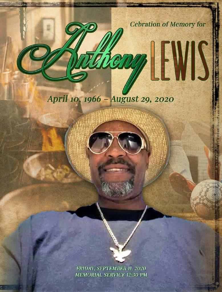 Anthony Lewis 1966-2021