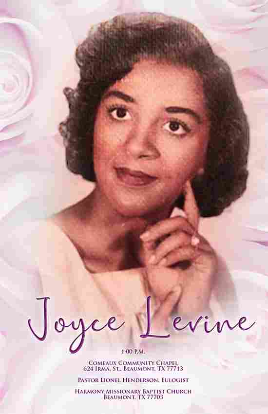 Joyce Levine 1936-2021