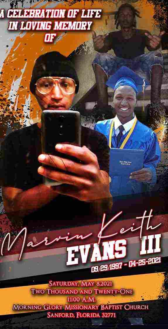 Marvin Keith Evans III 1997-2021