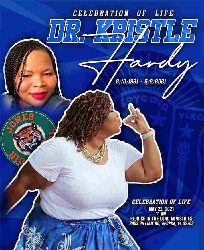 Dr Kristle Hardy 1981-2021