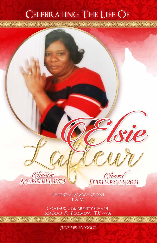 Elsie Lafleur 1970 – 2021