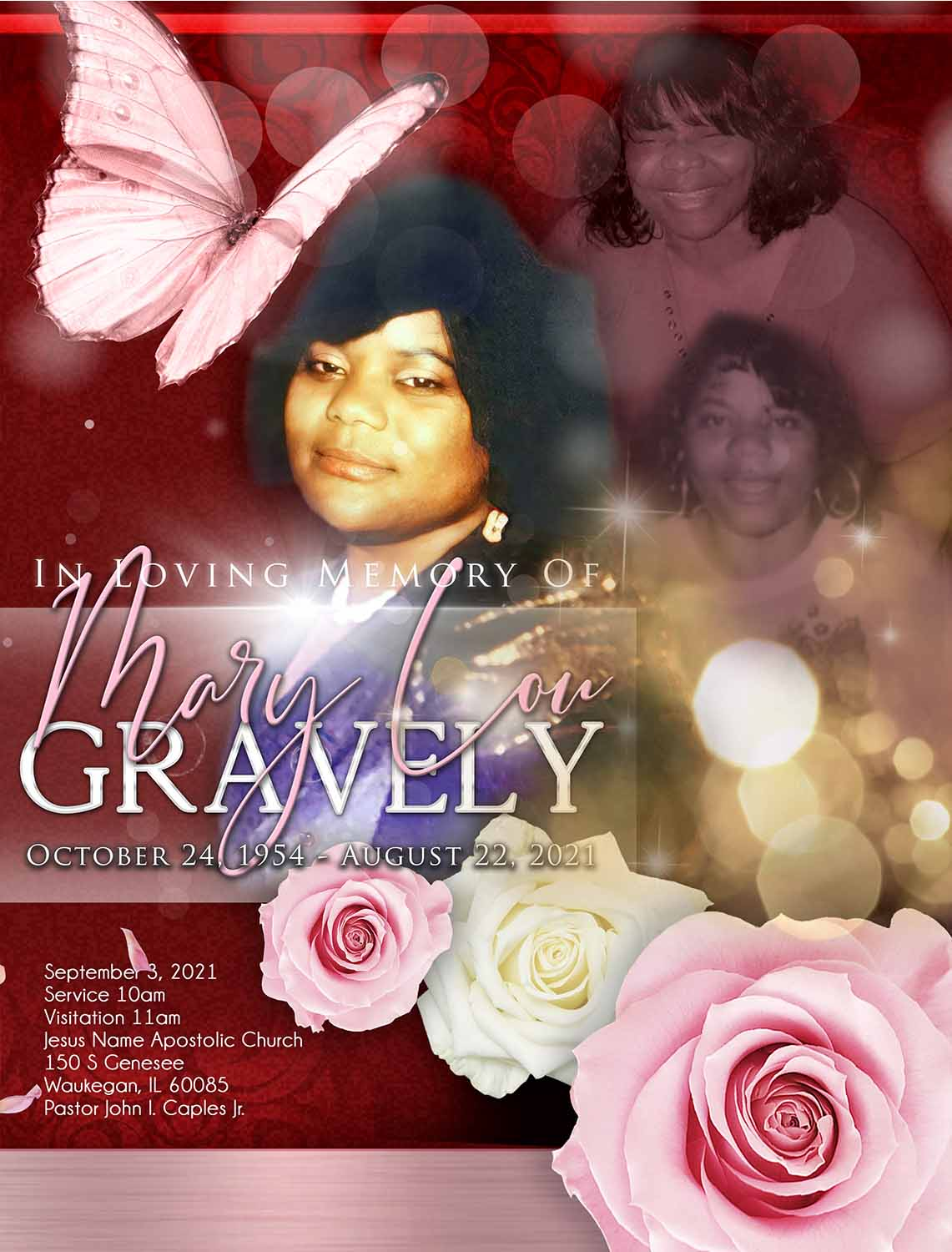 Mary Lou Gravely 1954-2021
