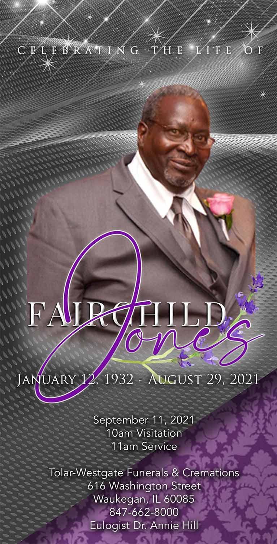 Fairchild Jones 1932-2021